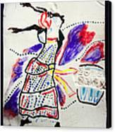 Kiganda Dance - Uganda Canvas Print by Gloria Ssali