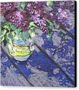 Lilacs Canvas Print by Gloria  Nilsson
