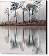 Loch Ard Reflections Canvas Print by Grant Glendinning