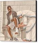 Mother Teresa Canvas Print by John Alan  Warford