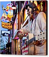 Music City Usa Canvas Print by Brian Jannsen