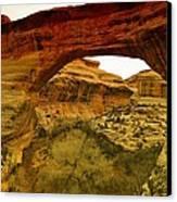Natural Bridge Canvas Print by Jeff Swan
