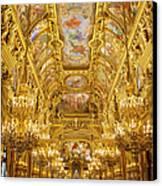Palais Garnier Interior Canvas Print by Brian Jannsen
