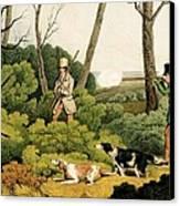 Pheasant Shooting Canvas Print by Henry Thomas Alken