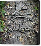 Roots Canvas Print by Brian Wallace