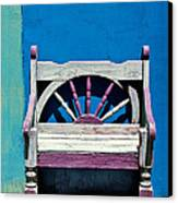 Santa Fe Chair Canvas Print by Elena Nosyreva