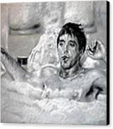 Scarface Canvas Print by Viola El