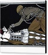 Scheherazade Canvas Print by Georges Barbier