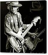 Stevie Ray Vaughan 1984 Canvas Print by Chuck Spang