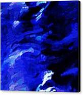 Storm At Sea Canvas Print by Sarah Loft