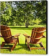 Summer Relaxing Canvas Print by Elena Elisseeva