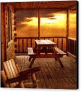 The Cabin Canvas Print by Joann Vitali