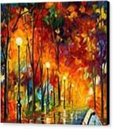 The Symphony Of Light Canvas Print by Leonid Afremov