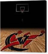 Washington Wizards Canvas Print by Joe Hamilton