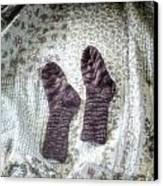 Woollen Socks Canvas Print by Joana Kruse
