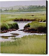 Yarmouthport Marsh Canvas Print by Karol Wyckoff