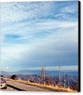 20 Degrees And Loving It At Cumberland Gap Canvas Print by WEB Shooter