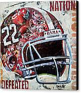 2009 Alabama National Champions Canvas Print by Alaina Enslen