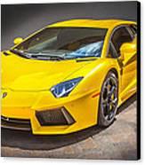 2013 Lamborghini Adventador Lp 700 4 Canvas Print by Rich Franco