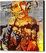 20th Century Depression Canvas Print by Jeff Burgess