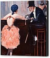 La Vie Parisienne  1920 1920s France Canvas Print by The Advertising Archives