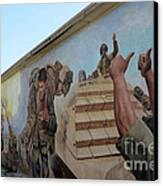29 Palms Mural 4 Canvas Print by Bob Christopher