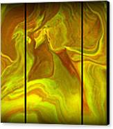 Abstract 99 Canvas Print by J D Owen