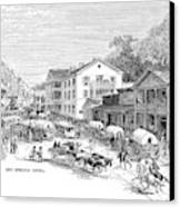 Arkansas Hot Springs Canvas Print by Granger
