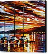 3 Borthers Canvas Print by Leonid Afremov