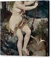 Diana Canvas Print by Pierre-Auguste Renoir