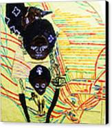 Holy Family Canvas Print by Gloria Ssali