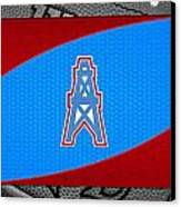Houston Oilers Canvas Print by Joe Hamilton
