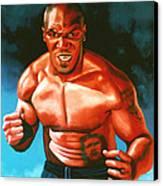 Mike Tyson Canvas Print by Paul Meijering