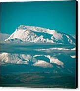 Mount Gurla Mandhata Canvas Print by Raimond Klavins