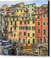Riomaggiore Canvas Print by Joana Kruse
