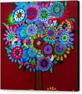Tree Of Hope Canvas Print by Pristine Cartera Turkus