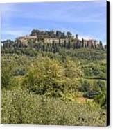 Tuscany - Montepulciano Canvas Print by Joana Kruse