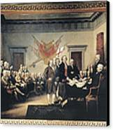 Declaration Of Independence Canvas Print by Granger