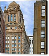 35 East Wacker - Jewelers' Building Chicago Canvas Print by Christine Till