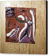 Dance - Tile Canvas Print by Gloria Ssali