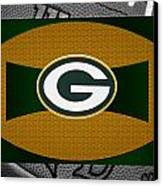 Green Bay Packers Canvas Print by Joe Hamilton