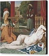 Ingres, Jean-auguste-dominique Canvas Print by Everett