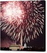 July 4th Fireworks Canvas Print by JP Tripp