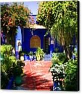 Majorelle Garden Marrakesh Morocco Canvas Print by Ralph A  Ledergerber-Photography