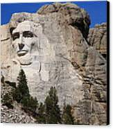 Mount Rushmore Canvas Print by Frank Romeo