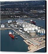 Port Of Tarragona, Catalonia Canvas Print by Jordi Todó Vila