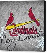 St Louis Cardinals Canvas Print by Joe Hamilton