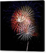 4th Of July 7 Canvas Print by Marilyn Hunt