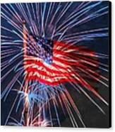 4th Of July Canvas Print by Heidi Smith