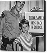 Andy Griffith Canvas Print by Retro Images Archive
